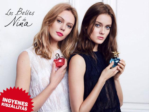Nina Ricci női parfümök: Nina, Luna, Premier Jour, Mademoiselle, L'Extase illatok - eredeti termékek, ingyenes kiszállítással