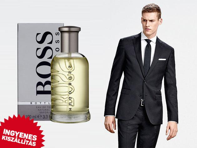 Hugo Boss férfi parfümök: Boss Bottled illat változatok, Hugo Man Extreme - eredeti termékek, ingyenes kiszállítással