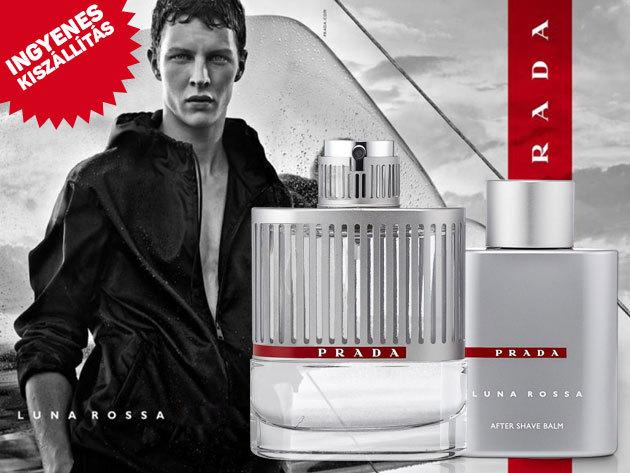Prada - Luna Rossa parfüm szett férfiaknak! 100ml EDT + 100ml aftershave balzsam, ingyenes szállítással