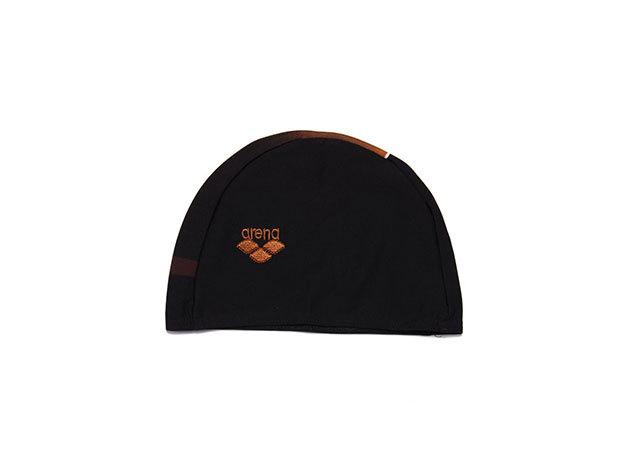 Arena Textil Cap - szövet gyerek úszósapka, fekete 93904-50
