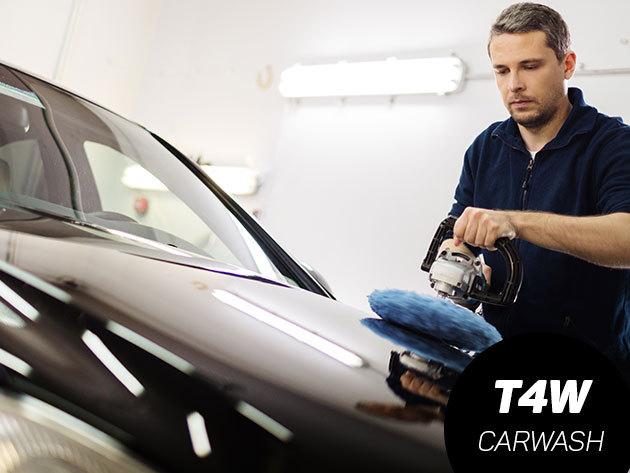 Külső autómosás belső takarítással, üléskárpit tisztítással, és gépi waxolással / XIII. ker., Váci út
