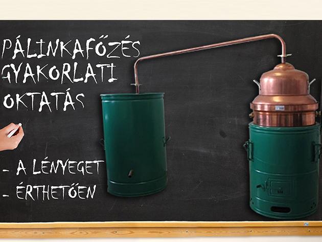 Pálinkafőzés gyakorlati és elméleti oktatás + kóstolás november 11-én, a XVI. kerületben - Tanulj meg minőségi pálinkát főzni profiktól!