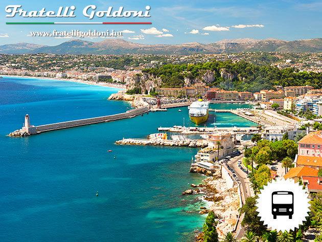 Őszi kalandok Seborgai hercegségben - San Remo - Nizza - Monaco - Genova - 6 nap 5 éj körutazás busszal, reggelivel és idegenvezetéssel /fő