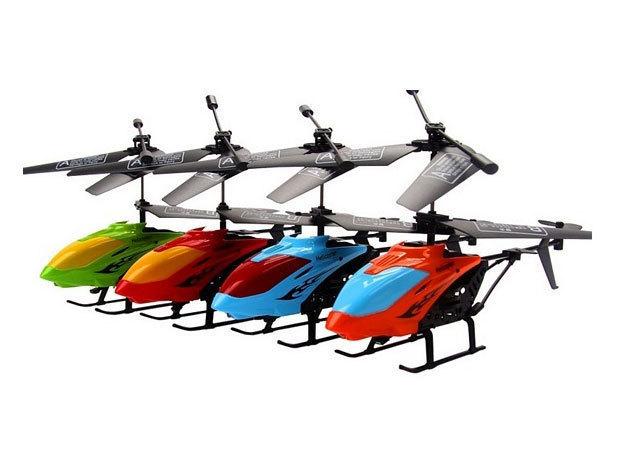 """Color """"Mini"""" Helikopter távirányítóval"""