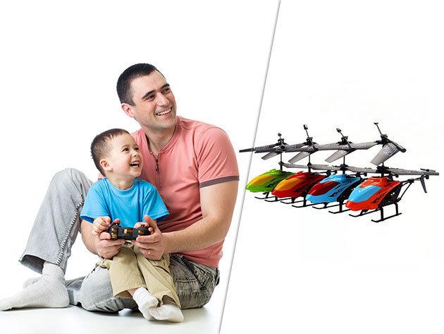 Távirányítású helikopter az igazi légi kalandokhoz (minden irányba röptethető)  - Nem csak gyerekeknek!