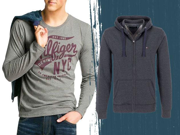 Tomy Hilfiger és Replay férfi pólók, pulcsik - Márkás férfi ruházat kiárusítás, OUTLET áron