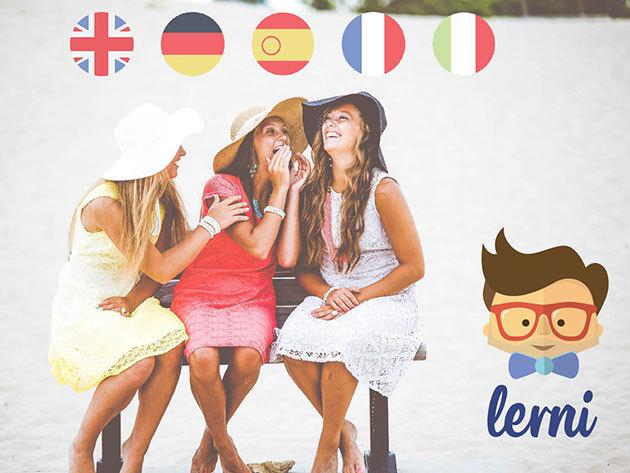 Online nyelvtanfolyam: angol, üzleti angol, német, francia, spanyol, olasz - 3, 6 vagy 12 hónapos nyelvi kurzusok a Lernitől, melyek mobilalkalmazáson is elérhetőek