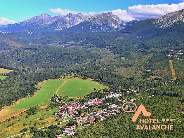 Szlovákia, Csorba-tó, Hotel Avalanche*** - wellness kikapcsolódás 3 vagy 4 nap szállás 2 fő részére, félpanzióval és extrákkal, 15 km-re a Popradi Aquaparktól, 2018. február 1-ig