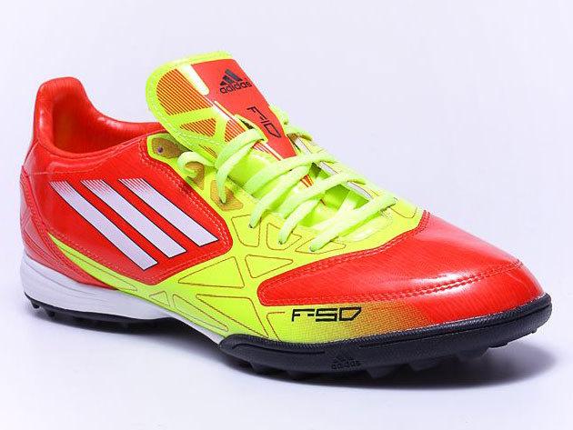 Adidas F10 Trx Tf - férfi futballcipő - narancssárga V24786 - 43 1/3