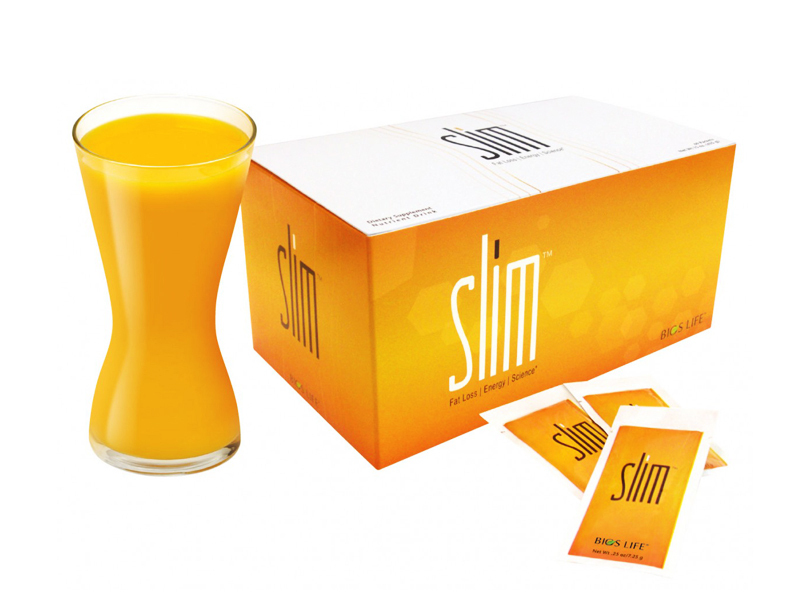 Bios Life Slim fogyókúrás italpor 60 adag