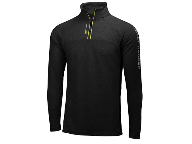 Helly Hansen HP 1/2 ZIP PULLOVER BLACK L (54213_990-L)