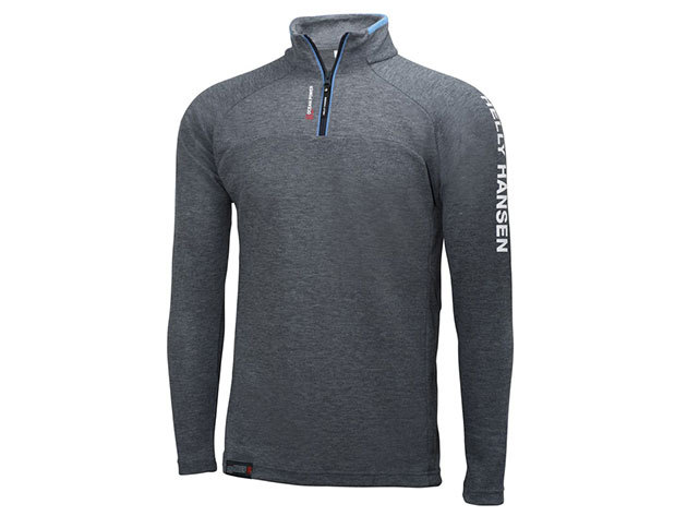 Helly Hansen HP 1/2 ZIP PULLOVER - CHARCOAL - XXL (54213_964-2XL )
