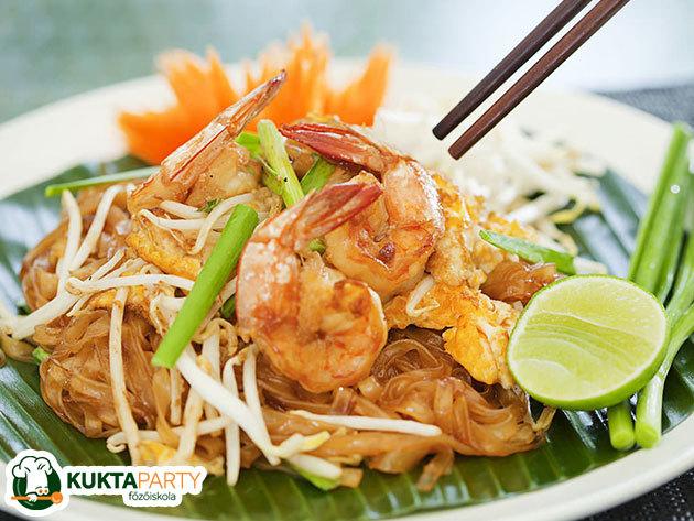 A THAI konyha kedvencei - főzőkurzus, profi séffel - tanuld meg a fortélyokat, trükköket! KuktaParty Főzőiskola (XIII. kerület)