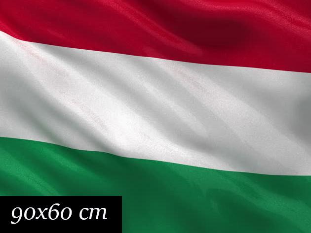 Nemzeti zászló címer nélkül - 90x60 cm