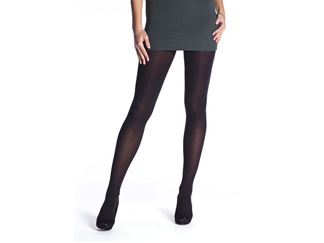 THERMO TIGHTS 60DEN - 60 denes női thermo harisnyanadrág - fekete BE262006-094-L