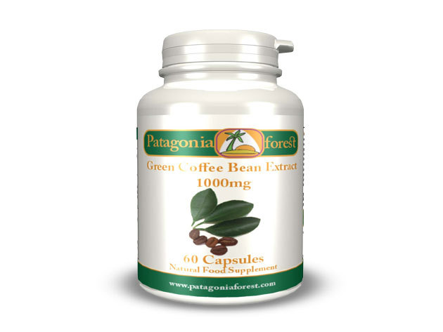 Green Coffee Bean Extract 60 db kapszula 1000mg