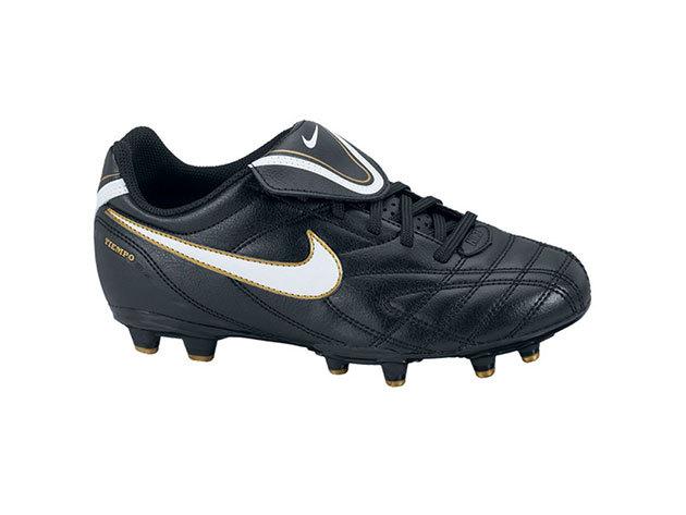 Nike JR Tiempo Natural III FG gyerek futballcipő fekete 35,5 (nike_366208_018_35,5)