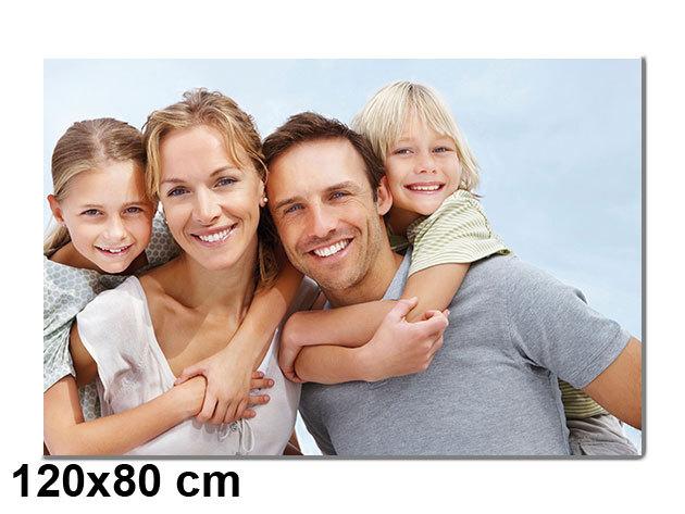 Vászonkép nyomtatás saját fotódból vakrámára feszítve - 120x80 cm