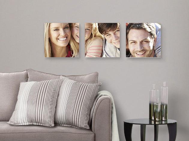 Vászonkép a kedvenc fotód alapján vakrámára feszítve: 50x75 cm-től 100x100 cm-es méretig / szívhez szóló ajándék, akár karácsonyra