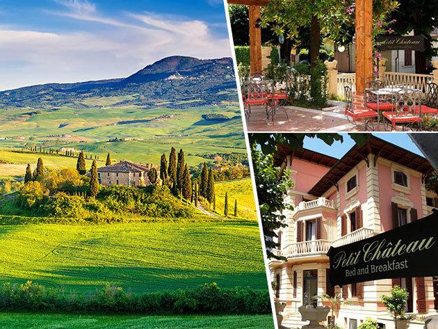 Toszkána, Montecatini Terme - szállás 4 vagy 6 napra 2 fő részére reggelivel a családias Petit Chateau B&B panzióban
