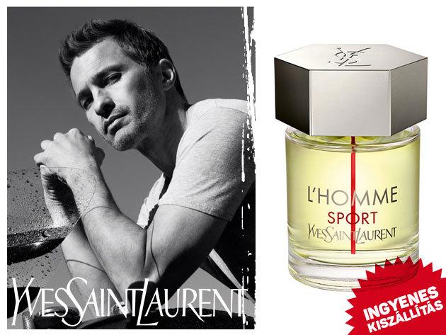 Yves Saint Laurent férfi parfüm YSL L'Homme Sport, Y For Men, Kouros Silver, YSL L'Homme - ingyenes kiszállítással