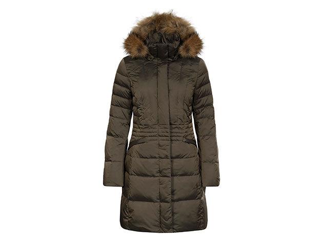 Luhta Pioni női kabát - bronz - 636482362L8_180 - 40