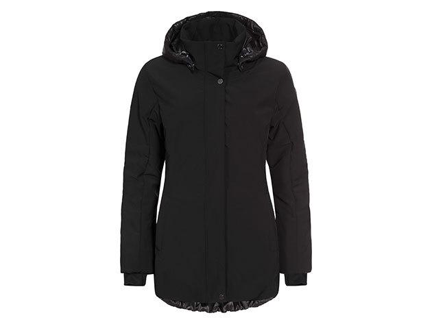 Luhta Pirkko női kabát - fekete - 636489535L_990 - 38