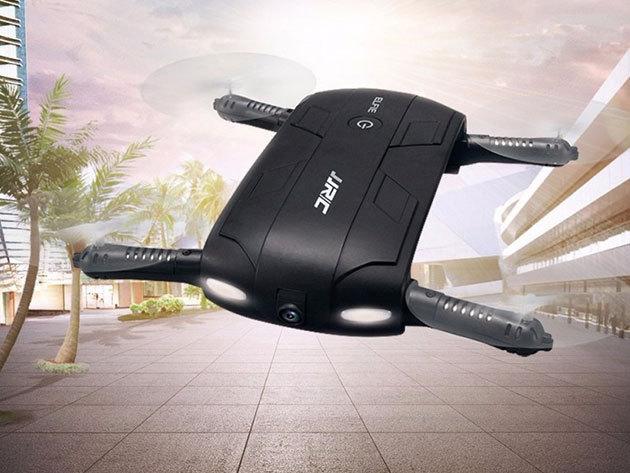 ELFIE kamerás zseb drón - összecsukható, bárhová magaddal viheted és különleges képeket készíthetsz segítségével
