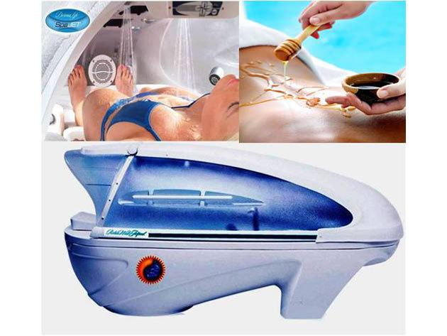 Egyedi wellness csomag - Dermalife spa jet wellness élménykabin, Kleopátra tejes-mézes testkezeléssel