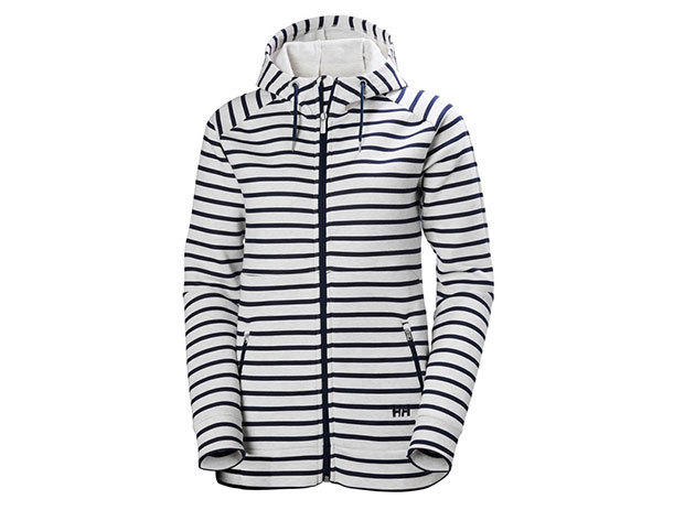 Helly Hansen W NAIADLINE FZ HOODIE EVENING BLUE STRIPE XS (53033_689-XS)