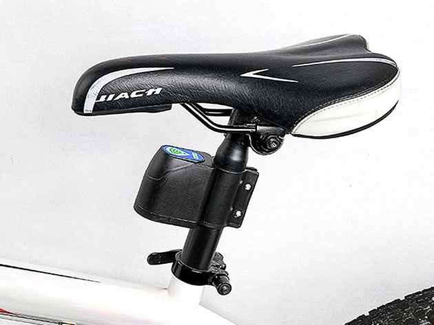 Lopásgátló, riasztó készülék kerékpárokhoz távirányítóval - mozgás hatására jól hallhatóan jelez