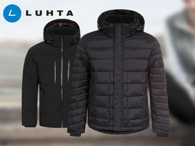 Luhta Miitre és Pauni férfi kabátok OUTLET áron - limitált készlet - prémium minőségű termékek a technika vívmányainak és a divat ötvözésével