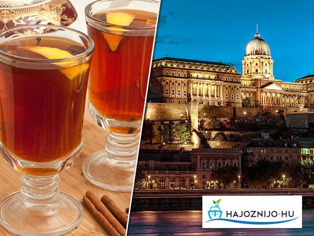 Sétahajózás Budapesten forró itallal - 1 órás program a Dunán, Budapest legszebb látványosságainak panorámájával /fő