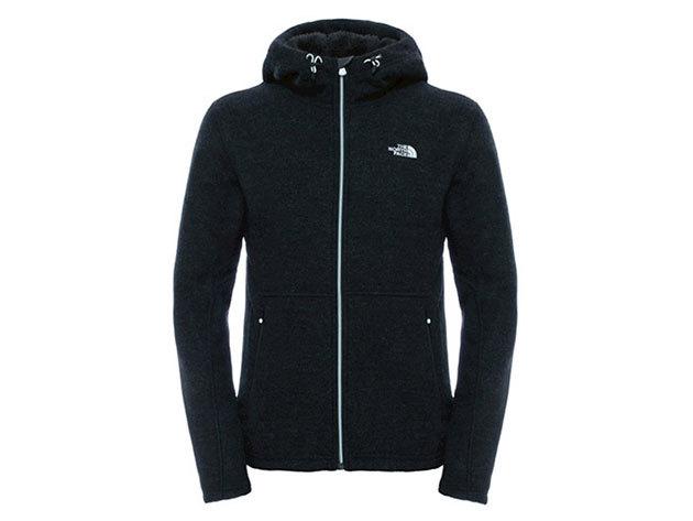 The North Face férfi pulóver ZERMATT FULL ZIP HOODIE TNF BLACK - T0CF98KBN XL-es (AZONNAL ÁTVEHETŐ)