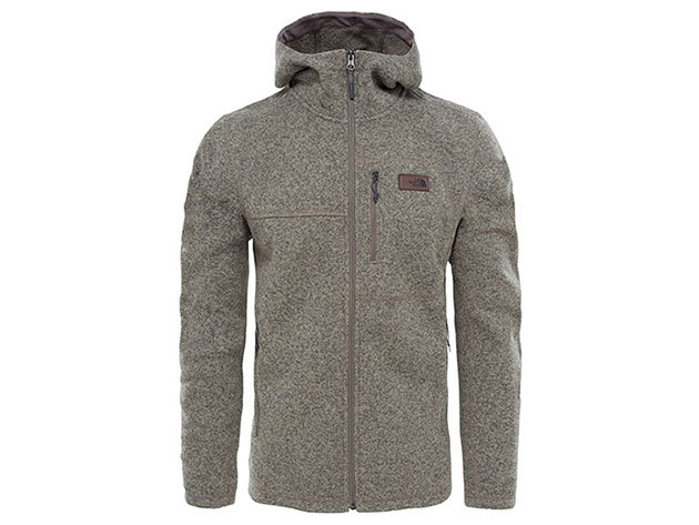 The North Face férfi pulóver GORDON LYONS HDY FLCN BROWN - T933R4QBP L-es (AZONNAL ÁTVEHETŐ)