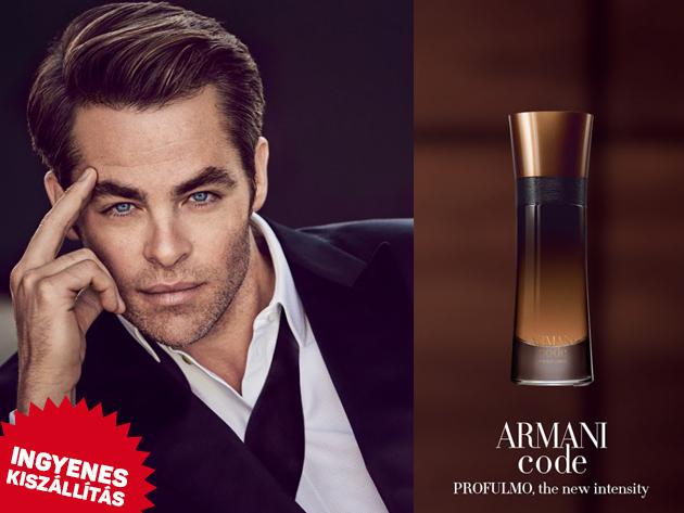 Giorgio Armani - Armani Code Profumo EDT - ellenállhatatlan illat férfiaknak (60ml) ingyenes kiszállítással