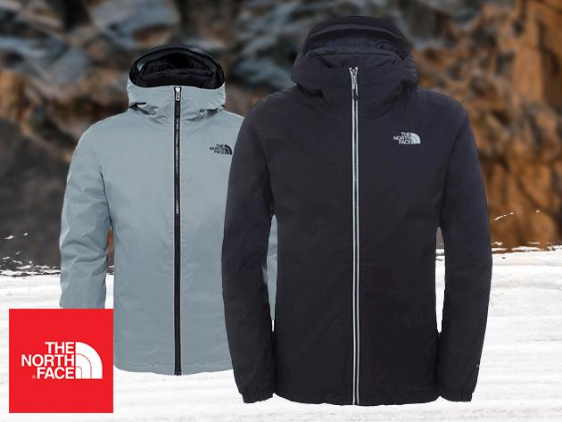 The North Face férfi átmeneti kabát - QUEST INSULATED JACKET - teljesen vízálló és jól szellőzik / azonnal átvehetőek