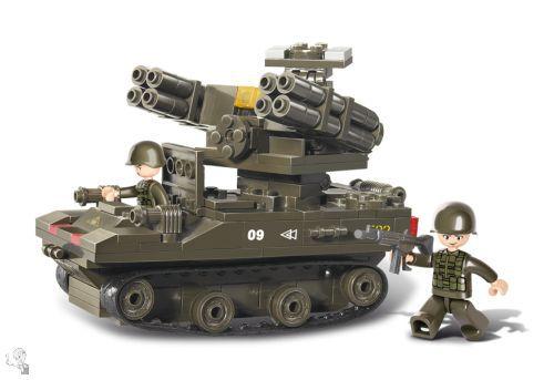 Sluban Rakétakilövő építőkészlet - M38-B0283