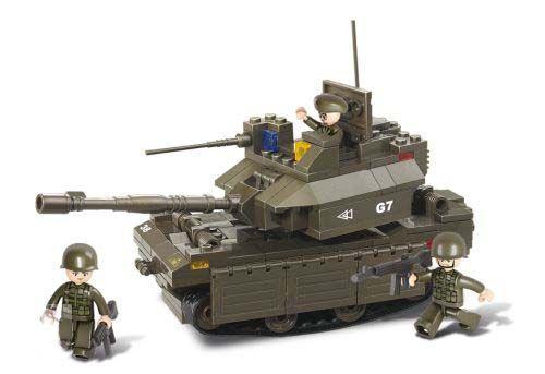 Sluban Modern Harckocsi - Tank építőkészlet - M38-B0287