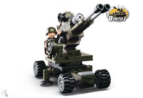 Sluban Légvédelmi üteg építőkészlet - 8in1 - M38-B0587E