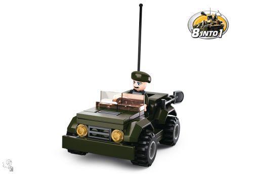 Sluban Jeep építőkészlet - 8in1 - M38-B0587F