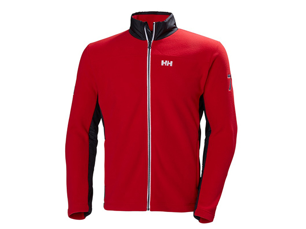 Helly Hansen COASTAL FLEECE JACKET RED M (53016_162-M)