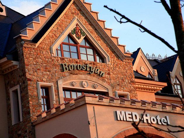 2019.05.01-12.22-ig  Borostyán Med Hotel**** 3 nap 2 éjszaka (HÉTVÉGE) 2 fő részére teljes ellátással + wellness + extrák