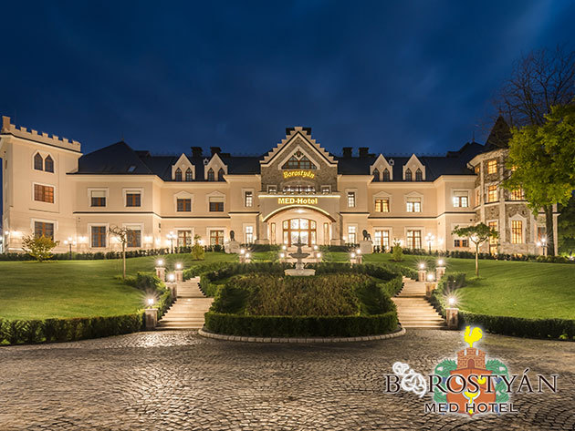 Borostyán Med Hotel**** Debrecen közelében - 2 vagy 3 éjszaka szállás 2 fő részére teljes ellátással, a wellness részleg korlátlan használatával és extrákkal