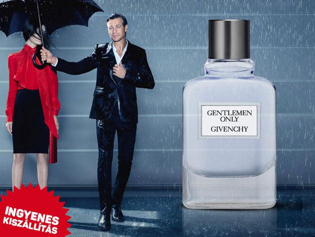 Givenchy - Gentlemen Only EDT férfiaknak aromás, fás illattal (kiszerelés: 100ml) Ingyenes kiszállítással