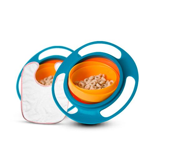 Gyro Bowl - bébi tányér – duopack + ajándék babaelőkével