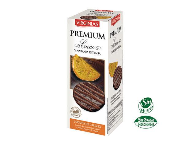 Virginias csokis keksz - narancsos étcsokis / 120g