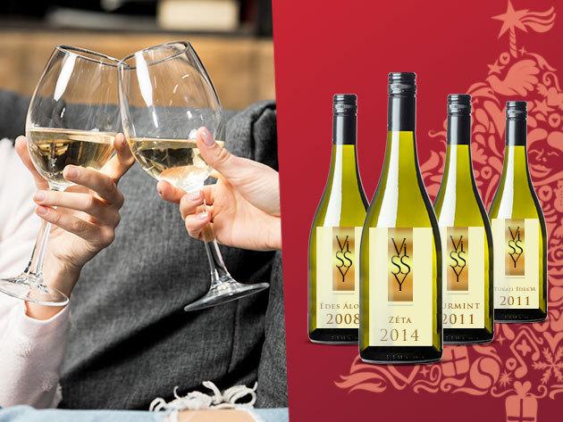 Tokaji borok a Vissy pincészettől, a Peres dűlőből - 'a borok királya, a királyok bora' / Készülj az ünnepekre!