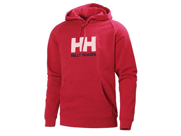 Helly Hansen HH LOGO HOODIE RED L (54313_162-L) - AZONNAL ÁTVEHETŐ