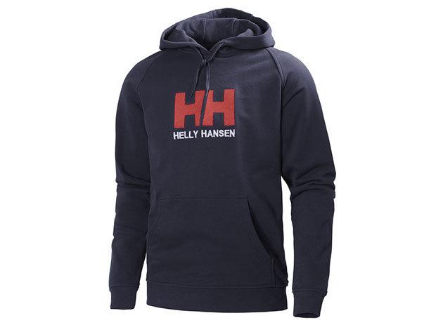 Helly Hansen HH LOGO HOODIE NAVY XL (54313_597-XL) - AZONNAL ÁTVEHETŐ